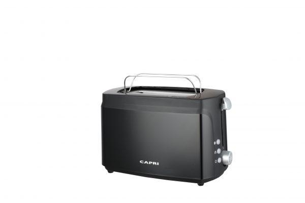 Capri 2 Slice Toaster in Black
