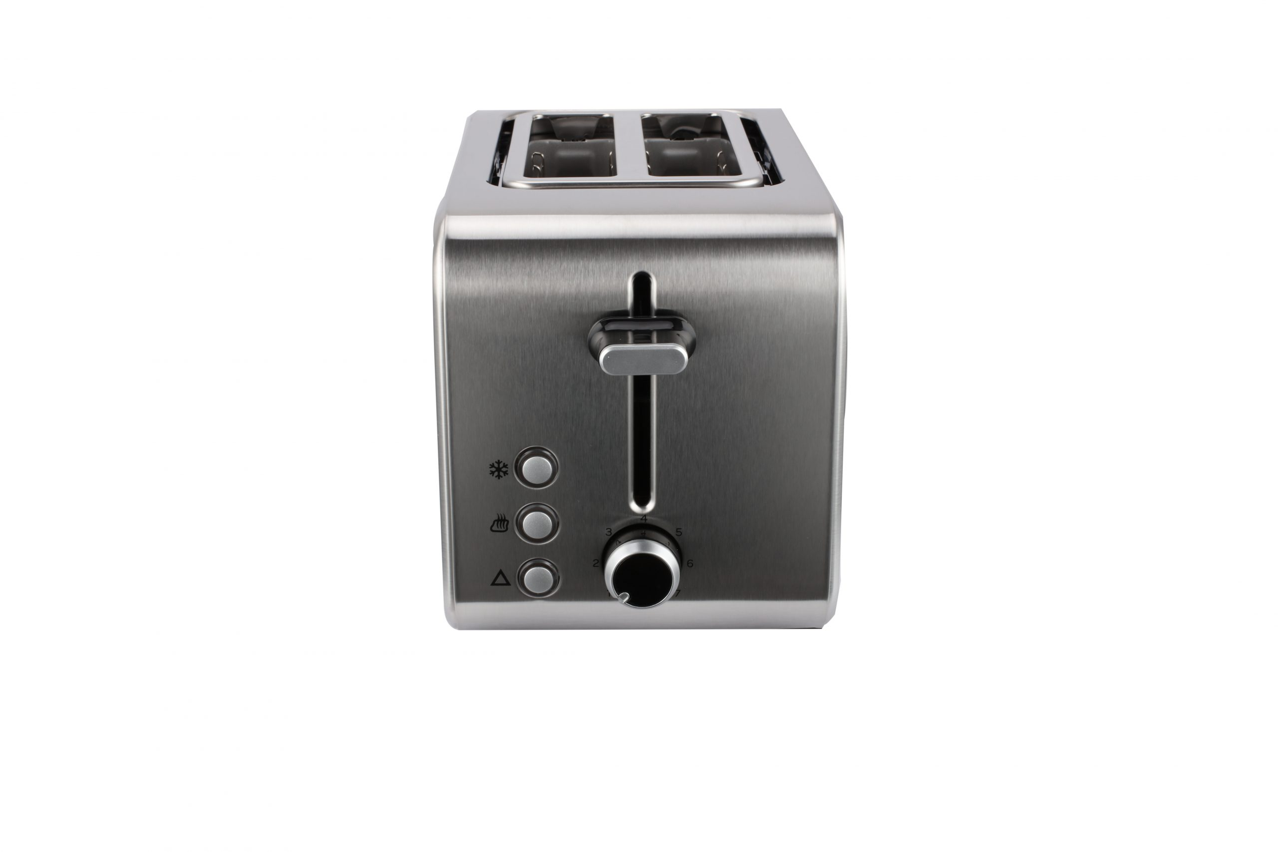 Capri 2 Slice Toaster Stainless Steel